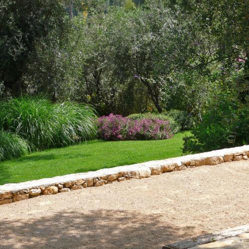 Jardin design Provence petanque Olivia Bochet