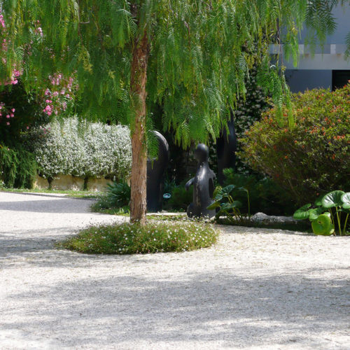 Jardin luxe paysagiste Parc Saint-Tropez Olivia Bochet