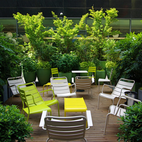 Terrasse corporate design Paris Olivia Bochet