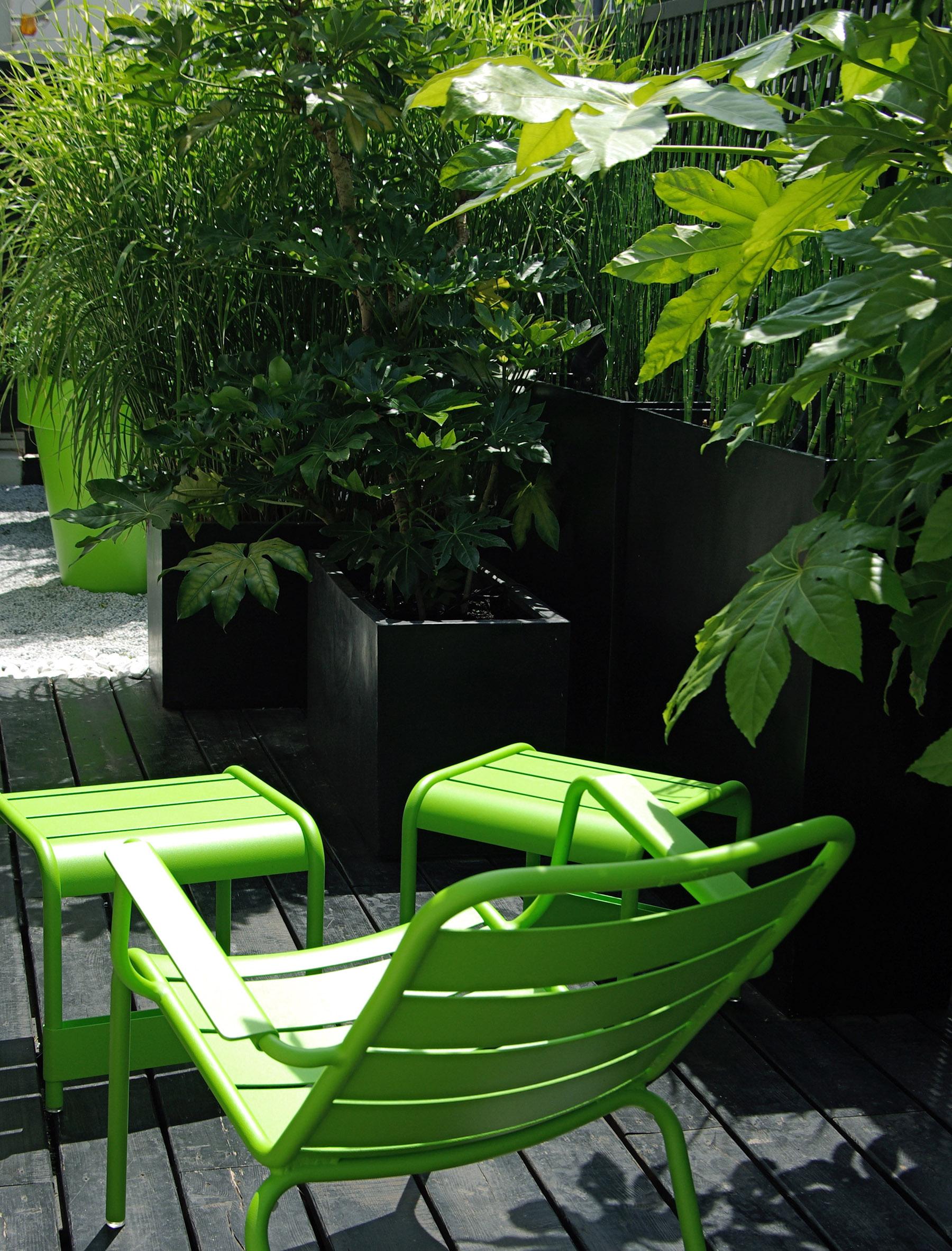Terrasse prestige luxe graphique Paris Olivia Bochet